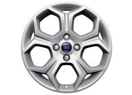 Ford-B-MAX-2012-2018-lichtmetalen-velg-17inch-5-spaaks-Y-design-zilver-1812531