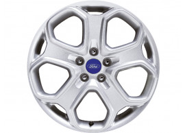 Ford-lichtmetalen-velg-18inch-5-spaaks-Y-design-zilver-1593728