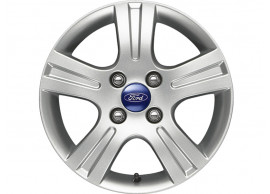 Ford-Fusion-2002-2012-lichtmetalen-velg-15inch-5-spaaks-design-zilver-1448060