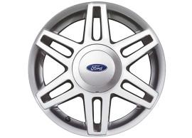 Ford-Fusion-2002-2012-lichtmetalen-velg-15inch-6x2-spaaks-sterdesign-gepolijst-zilver-1361207