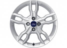 Ford-Ka-09-2008-2016-lichtmetalen-velg-16inch-5-x-2-spaaks-design-sparkle-silver-1857886