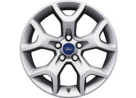 Ford-Kuga-2008-10-2012-lichtmetalen-velg-17inch-5-spaaks-Y-design-gepolijst-zilver-1754584
