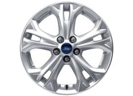 Ford-lichtmetalen-velg-17inch-5-spaaks-Y-design-zilver-1841661