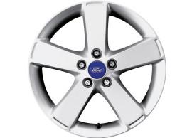 Ford-lichtmetalen-velg-17inch-5-spaaks-design-gepolijst-zilver-1476108