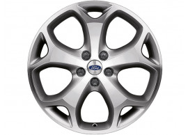 Ford-lichtmetalen-velg-18inch-5-spaaks-Y-design-gepolijst-antraciet-1440631