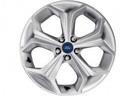 Ford-lichtmetalen-velg-18inch-5-spaaks-Y-design-zilver-1693735