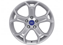Ford-lichtmetalen-velg-17inch-5-spaaks-Y-design-zilver-1482518