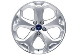 Ford-lichtmetalen-velg-18inch-5-spaaks-Y-design-zilver-1710928