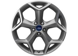 Ford-lichtmetalen-velg-19inch-5-spaaks-Y-design-Sparkle-Silver-gepolijst-1892461