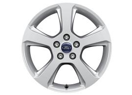 Ford-lichtmetalen-velg-17inch-5-spaaks-design-sprankelend-zilver-1903997
