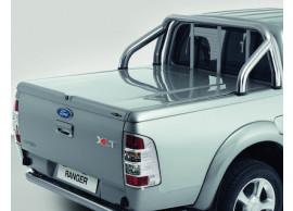 Ford-Ranger-2006-10-2011-Style-X-hard-cover-bagageafdekking-versluitbaar-geverfd-in-zilveren-metallic-1487196
