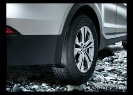 B8460ADE20 Hyundai Grand Santa Fe (2013 - 2019) spatlappen, achter