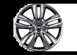 """Hyundai Grand Santa Fe (2013 - 2019) winterset 19"""" aluminium met TPMS - Yokohama 2WF40AC195Y"""