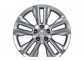 """Hyundai Grand Santa Fe (2013 - 2019) winterset 18"""" aluminium met TPMS 2WF40AK310TH"""