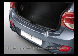 Hyundai i10 (2010 - 2014) achterbumper beschermfolie, transparant E86610X100