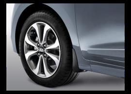 B9F46AC000 Hyundai i10 (2014 - ..) spatlappen, voor