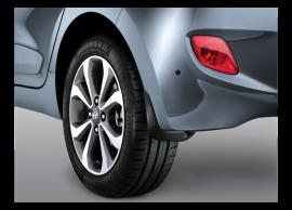 Hyundai i10 (2017 - ..) spatlappen, achter B9F46AK100