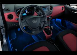 Hyundai i10 (2017 - ..) LED verlichting beenruimte vooraan blauw 99650ADE20
