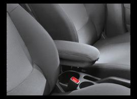 Hyundai i20 3-drs (2012 - 2015) armsteun met opbergvak, LHD 1J161ADE00