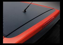 Hyundai i20 3-drs (2012 - 2015) stickers, carbon optic E86651J000CB