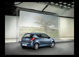 Hyundai i20 3-drs (2012 - 2015) achterklep beschermlijst zwart E86751J000