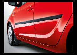 Hyundai i20 3-drs (2012 - 2015) spatlappen, protective, voor 1J461ADE10