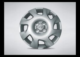 """Hyundai i20 3-drs (2012 - 2015) wieldoppenset voor stalen velg 15"""" 529604P605"""