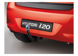 Hyundai i20 3-drs (2012 - 2015) trekhaak, horizontaal afneembaar E61001J002