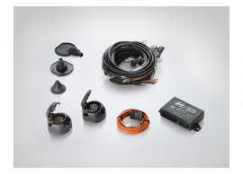 Hyundai i20 3-drs (2012 - 2015) trekhaak kabelset, 7-polig, LHD 1J620ADE00C