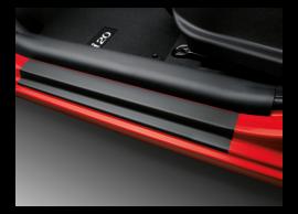 Hyundai i20 5-drs (2012 - 2015) instapbeschermfolie, zwart 1J451ADE00BL