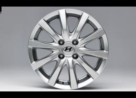 """Hyundai i20 Active (2016 - .. ) winterset lichtmetalen velgen 15"""", met TPMS C8400ADE01TY"""