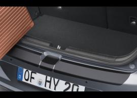 Hyundai i20 Coupe achterbumper beschermfolie, zwart C8272ADE30BL