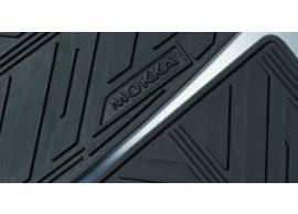Opel Mokka vloermatten rubber 39026744