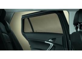 Opel Mokka zonneschermen achterportieren + zijruiten