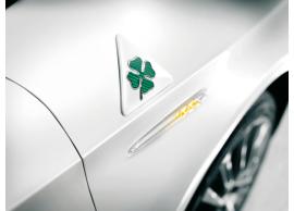 71806020 Alfa Romeo Giulietta / Mito Quadrifoglio Verde badgea (set van 2 stuks)
