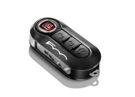 fiat-500-sleutelbehuizingset-zwart-en-metallic-donkergrijs-met-500-logo-50927028