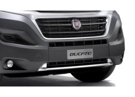 Fiat Ducato 2014 - .. bumpersierlijst zilver-kleurig 71807356