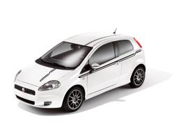 Fiat Punto 3-drs striping circuit zwart 51841868
