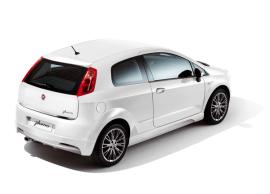 Fiat Grande Punto achterbumper spoiler 50902333