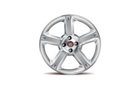Fiat Punto set lichtmetalen velgen 5-spaaks 50901341
