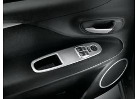 Fiat Punto Evo sierpaneel portier comfortline zilver grijs 2 schakelaars 50902767