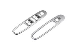 Fiat Punto Evo sierpaneel portier comfortline zilver grijs 4 schakelaars 50902768