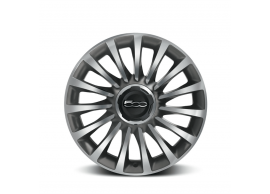 "Fiat 500L set lichtmetalen velgen 17"" brunex - grijs 50927162"