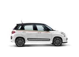 Fiat 500L raamlijststicker Italiaanse vlag 50926926