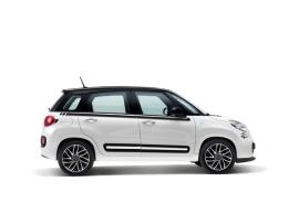 Fiat 500L raamlijststicker zwart 50927032
