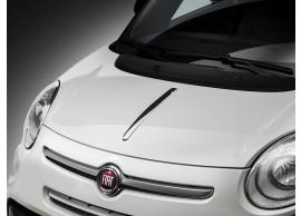 Fiat 500L sierlijst op motorkap satijn 50926892