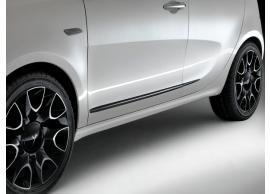 Lancia Ypsilon stootsierlijsten zwart 51902426