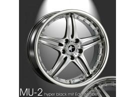 musketier-citroën-c-crosser-peugeot-4007-lichtmetalen-velg-mu-2-85x19-hyper-zwart-met-rvs-CC98514EBP