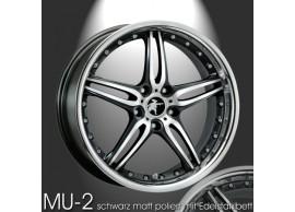 musketier-citroën-c-crosser-peugeot-4007-lichtmetalen-velg-mu-2-9x20-mat-zwart-met-rvs-CC09014EBP