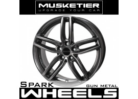 musketier-citroën-c-crosser-peugeot-4007-lichtmetalen-velg-spark-75x17-gun-metal-CC77521GM